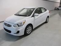 2017 Hyundai Accent SE White WITH SOME AVAILABLE