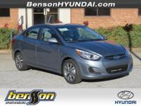 Silver 2017 Hyundai Accent Value Edition FWD 6-Speed