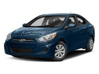 **CERTIFIED READY** 2017 Hyundai Accent SE With Only