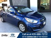 Come check out this great gas mileage Hyundai Accent.
