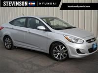 2017 Hyundai Accent Value Edition Ironman Silver