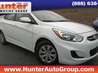SE Hyundai Accent WhiteGry Cloth.$1,861 off MSRP!