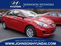 2017 Hyundai Accent SE. Beige w/Cloth Seat Trim, Cargo