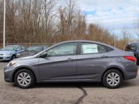 KEY FEATURES AND OPTIONS This Hyundai Accent comes