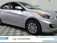 2017 Hyundai Accent SE 37/27 Highway/City MPG Price
