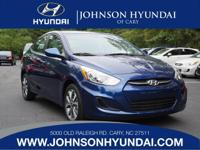 2017 Hyundai Accent Value Edition. Gray w/Premium Cloth