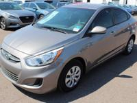 2017 Hyundai Accent SE Gray. 36/26 Highway/City MPG