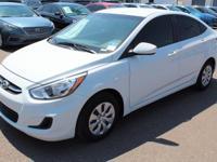 2017 Hyundai Accent SE Gray. 36/26 Highway/City MPG