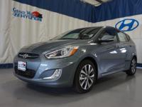 Gray 2017 Hyundai Accent Sport FWD 6-Speed Automatic