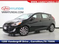 New Price! 2017 Hyundai Accent Sport 36/26 Highway/City
