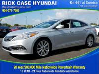 2017 Hyundai Azera Limited  in Ion Silver and 20 year