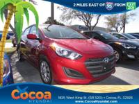 This 2017 Hyundai Elantra GT in Red features: Clean