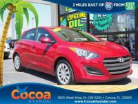 This 2017 Hyundai Elantra GT in Red features: Recent