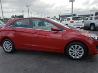 Recent Arrival! 32/24 Highway/City MPG Red 2017 Hyundai
