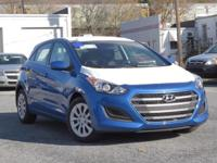 2017 Hyundai Elantra GT 32/24 Highway/City MPG