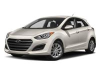 2017 Hyundai Elantra GT in Scarlet Red Pearl with the