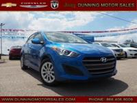 Electric Blue Metallic 2017 Hyundai Elantra GT FWD