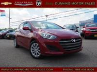 Scarlet Red 2017 Hyundai Elantra GT FWD 6-Speed