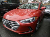 2017 Hyundai Elantra Limited Odometer is 3631 miles
