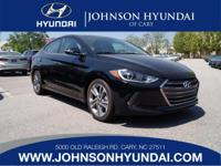 2017 Hyundai Elantra Limited. Cargo Net, Carpeted Floor