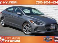 New Price! Clean CARFAX. Galactic Gray 2017 Hyundai