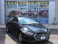 Black Diamond 2017 Hyundai Elantra FWD 6-Speed 2.0L