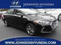 2017 Hyundai Elantra Value Edition. Cargo Package,