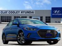 New Price! Electric Blue 2017 Hyundai Elantra Limited