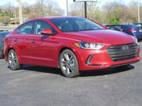 This 2017 Hyundai Elantra Limited  will sell fast! This