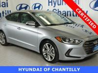 HYUNDAI CERTIFIED, $25,960 ORIGINAL MSRP, CLEAN