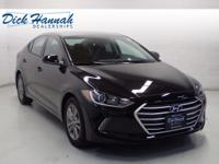 This Elantra is nicely equipped with features such as 6