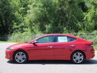 KEY FEATURES AND OPTIONS This Hyundai Elantra comes