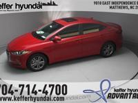 2017 Hyundai Elantra Value Edition 2.0L 4-Cylinder DOHC