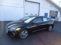 2017 Hyundai Elantra Limited Black, Heated Seats,