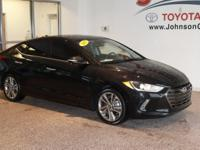 2017 Black Hyundai Elantra Mention this advertisement