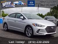 * 2017 Hyundai Elantra Limited... Features include: