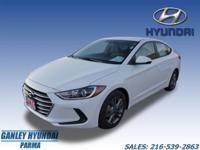 2017 Hyundai Elantra SE White, MP3, Remote Start,