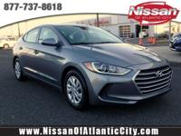 Come see this 2017 Hyundai Elantra SE. Its Automatic