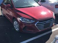 Hyundai Certified, CARFAX 1-Owner. SE trim. CD Player,