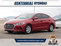 CARFAX One-Owner. Clean CARFAX. Red 2017 Hyundai