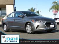 2017 Hyundai Elantra Galactic Gray 6-Speed Automatic