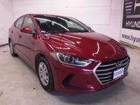 Nice car! Hurry in! This attractive 2017 Hyundai