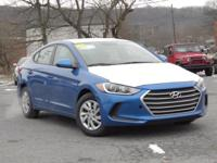 2017 Hyundai Elantra SE 36/26 Highway/City MPG