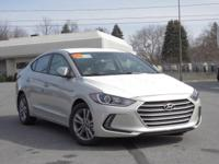 2017 Hyundai Elantra Value Edition 37/28 Highway/City