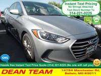 Lead the way in our 2017 Hyundai Elantra SE in Galactic