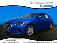 2017 Hyundai Elantra SE WITH SOME AVAILABLE OPTIONS