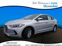2017 Hyundai Elantra SE Silver WITH SOME AVAILABLE