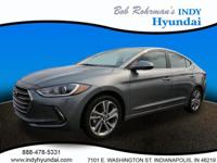 2017 Hyundai Elantra Limited Gray WITH SOME AVAILABLE