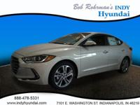 2017 Hyundai Elantra Limited Pearl WITH SOME AVAILABLE