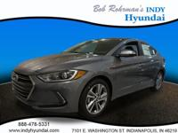 2017 Hyundai Elantra Gray WITH SOME AVAILABLE OPTIONS